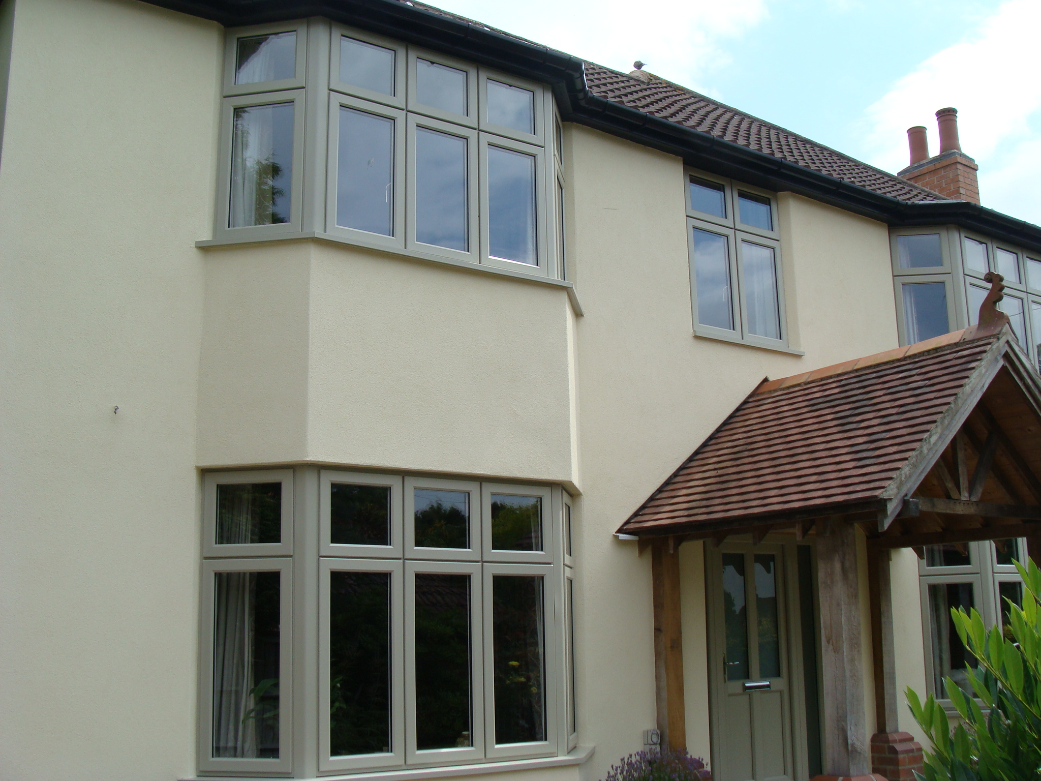 Timber Alternative Olive Grey Storm Dm Windows