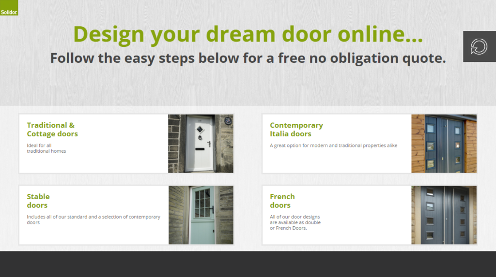 Solidor Online Door Builder