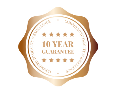 Evolution 10 Year Guarantee