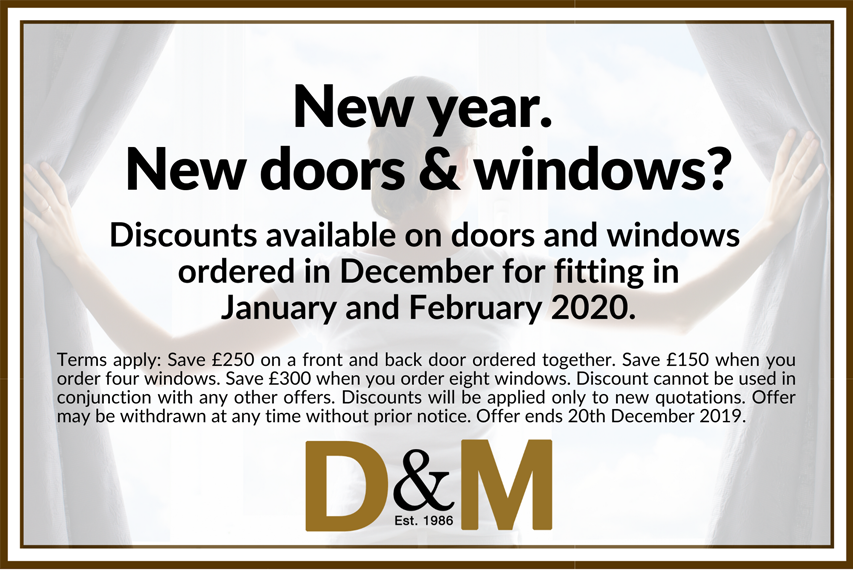 D&M Windows, Windows And Door Fitting Offer